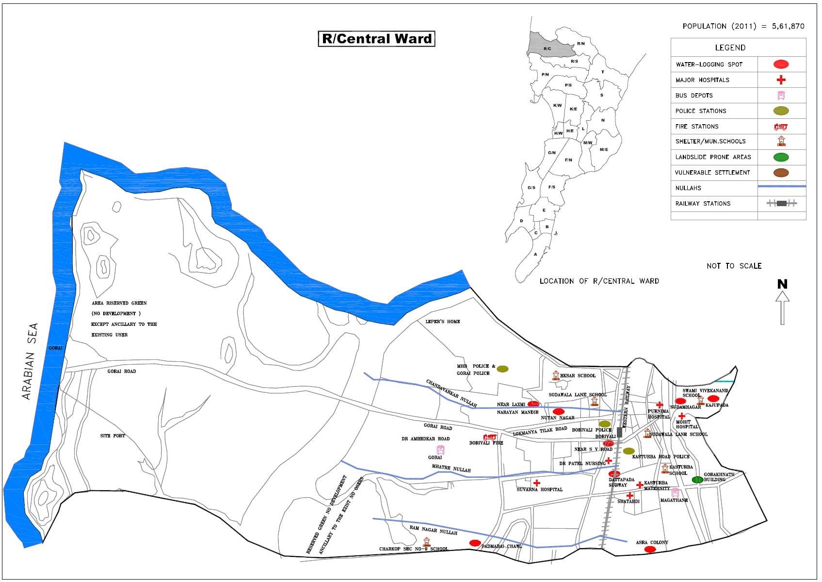 R - Central ward